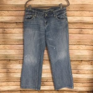 Size 10S American Eagle Favorite Boyfriend Jeans
